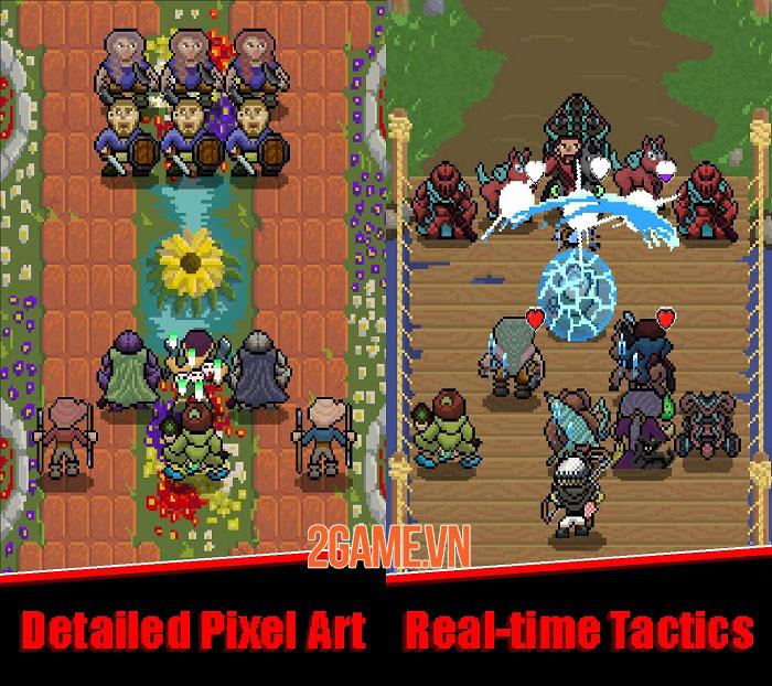Raven's Path - Game nhập vai chiến thuật thời gian thực phong cách pixel 0