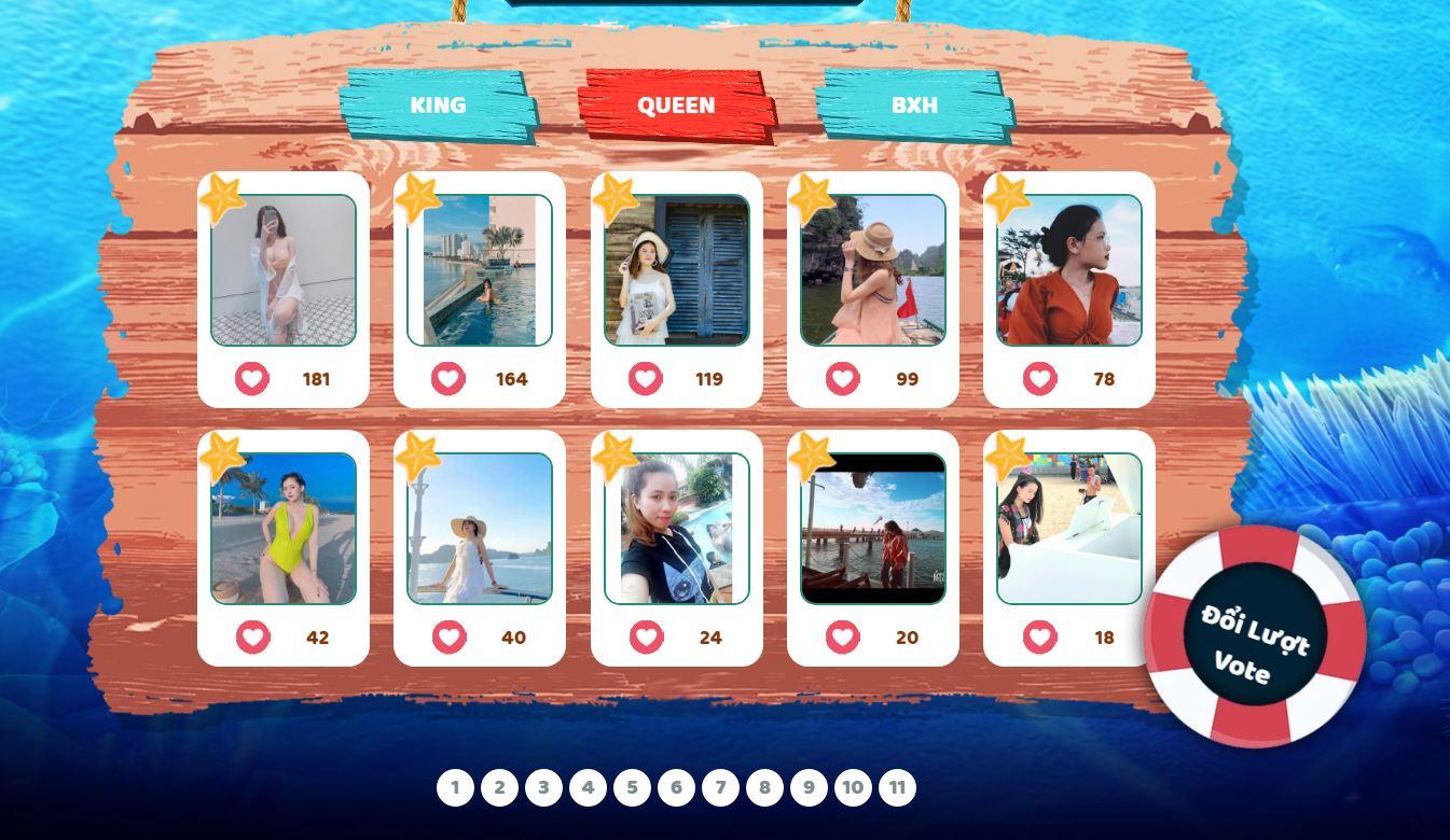 Hot summer – King & Queen Tình Kiếm 3D tự tin phá đảo tiêu chuẩn trai xinh gái đẹp