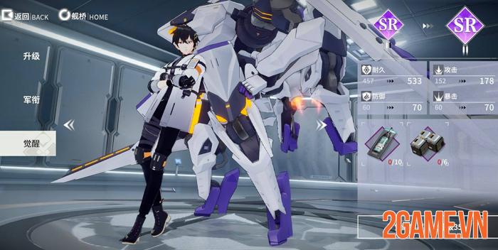 Final Front: Enobetta - Game đại chiến robot thế hệ mới trên mobile 3