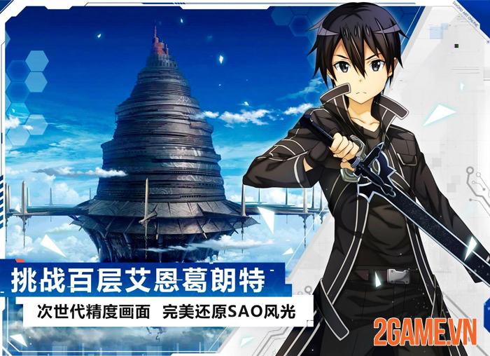 Sword Art Online Black Swordsman: Ace - Bom tấn nhập vai Trung Quốc 2