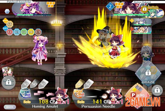 Touhou Lostworld Mobile chính thức ra mắt phiên bản quốc tế 4