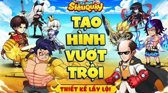 Liên Minh Siêu Quậy có đầy đủ nhân vật từ hầu hết những bộ manga hot