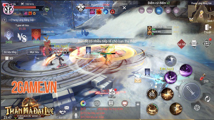 Forsaken World: Thần Ma Đại Lục tạo ra một sân chơi gắn kết cộng đồng 3