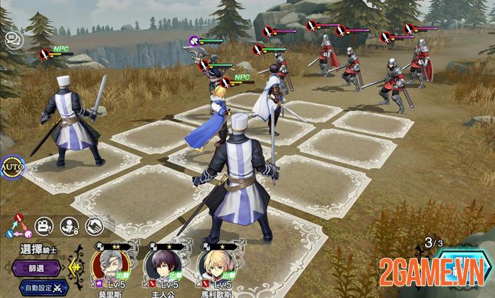 Hortensia Saga R - Game chiến thuật Trung Cổ ra mắt game thủ Đài Loan 3
