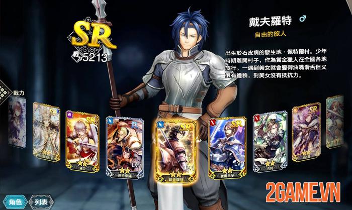 Hortensia Saga R - Game chiến thuật Trung Cổ ra mắt game thủ Đài Loan 4