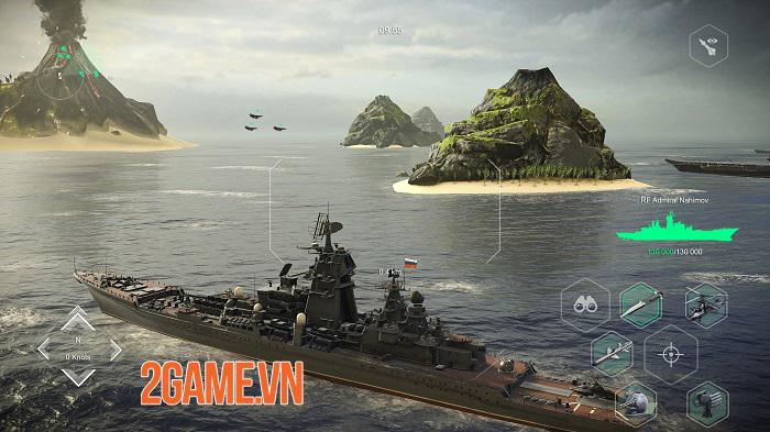 Modern Warships - Game hành động mô phỏng hải quân chiến thực tế 1