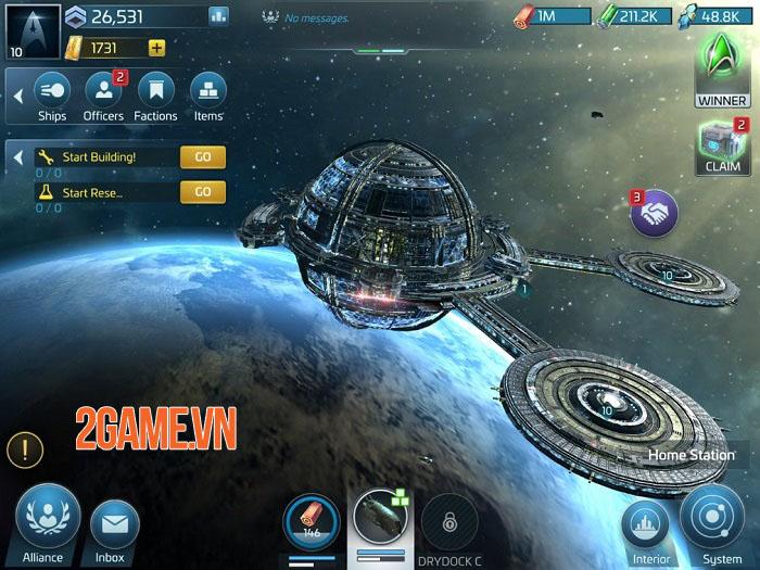 Star Trek Fleet Command - Game chiến thuật xây dựng liên minh hoành tráng thống trị ngân hà 1