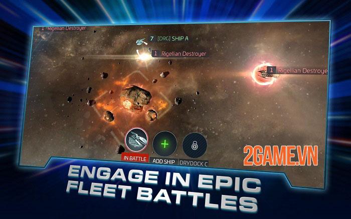 Star Trek Fleet Command - Game chiến thuật xây dựng liên minh hoành tráng thống trị ngân hà 3