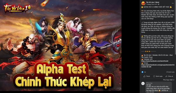 Tân Võ Lâm 1 Mobile tái hiện chân thực ký ức hào hùng đời đầu làng game Việt 2