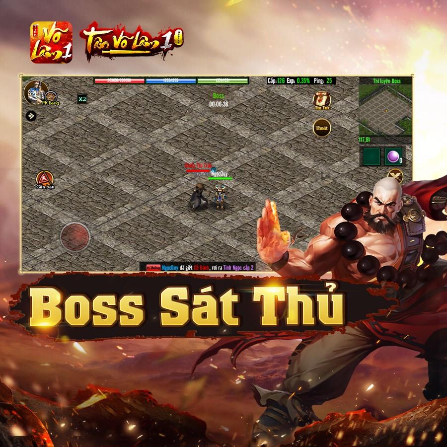 Tân Võ Lâm 1 Mobile tái hiện chân thực ký ức hào hùng đời đầu làng game Việt 3