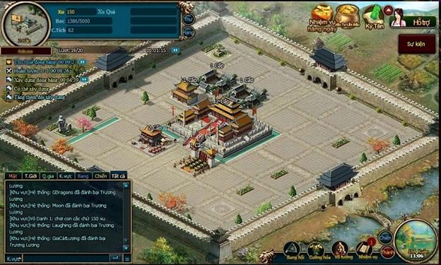 Loạn Tam Quốc 2 là game Tam Quốc sở hữu hình ảnh