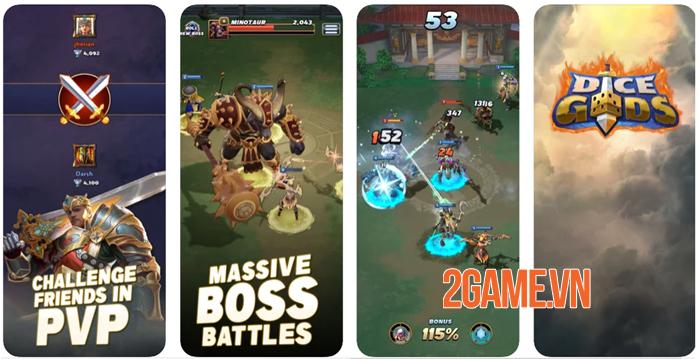Dice Gods - Game chiến thuật tiết tấu nhanh tập trung vào kĩ năng 2