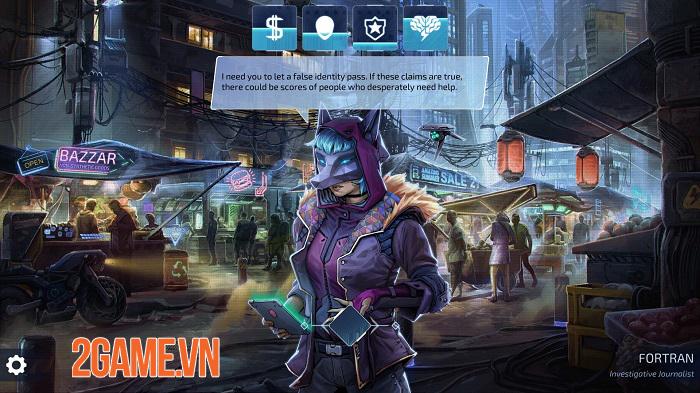 Neuronet: Mendax Proxy - Game phiêu lưu cyperpunk thống trị thế giới công nghệ 0