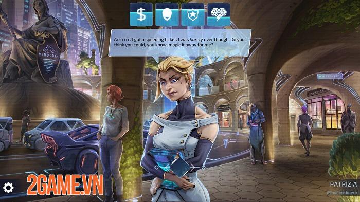 Neuronet: Mendax Proxy - Game phiêu lưu cyperpunk thống trị thế giới công nghệ 1