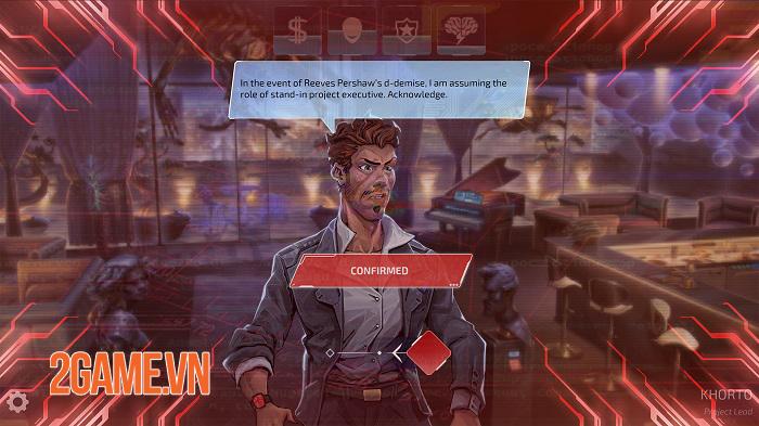 Neuronet: Mendax Proxy - Game phiêu lưu cyperpunk thống trị thế giới công nghệ 2