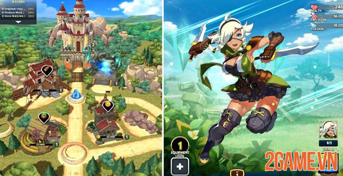 Starsteel Fantasy - Game nhập vai xếp hình vui nhộn của game thủ mobile 2