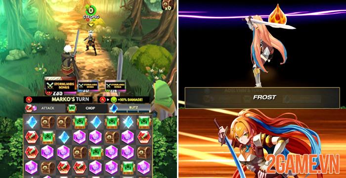 Starsteel Fantasy - Game nhập vai xếp hình vui nhộn của game thủ mobile 1