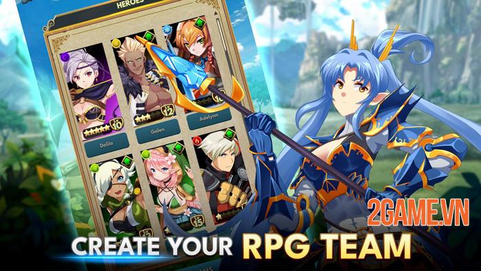 Starsteel Fantasy - Game nhập vai xếp hình vui nhộn của game thủ mobile 0