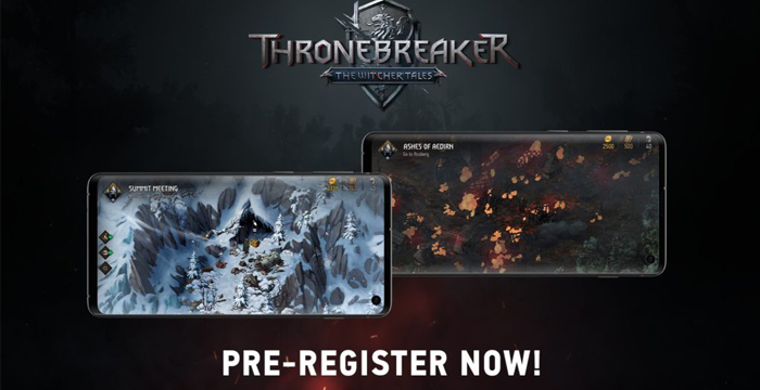 Thronebreaker: The Witcher Tales – Gwent Mobile chuẩn bị ra mắt Android