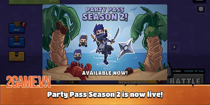 Castaway Party - Chơi một mạch 4 trò chơi chỉ trong 3 phút 0