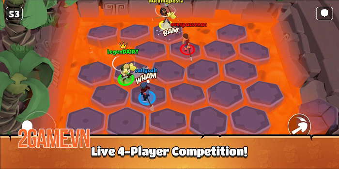 Castaway Party - Chơi một mạch 4 trò chơi chỉ trong 3 phút 1