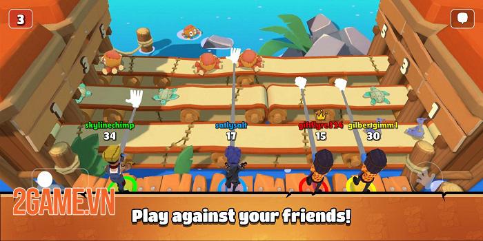 Castaway Party - Chơi một mạch 4 trò chơi chỉ trong 3 phút 2