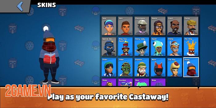 Castaway Party - Chơi một mạch 4 trò chơi chỉ trong 3 phút 4