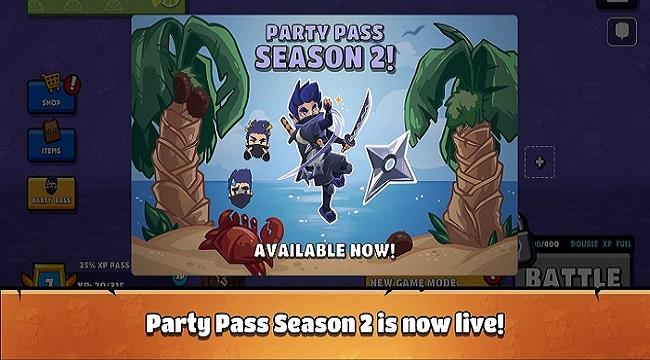 Castaway Party – Chơi một mạch 4 trò chơi chỉ trong 3 phút
