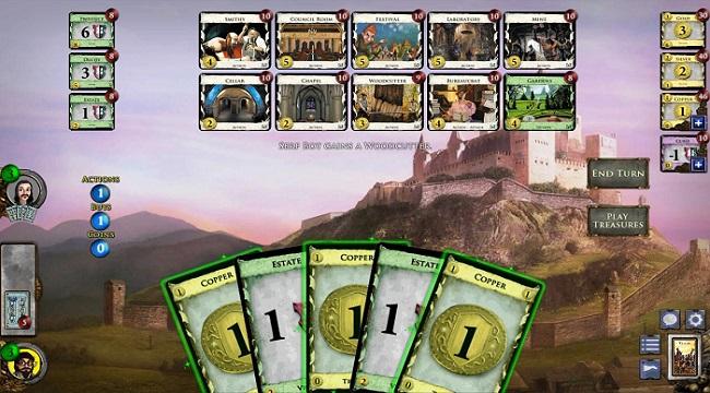 Dominion – Game thẻ bài nổi tiếng được phát triển bởi Temple Gate đã có bản mobile