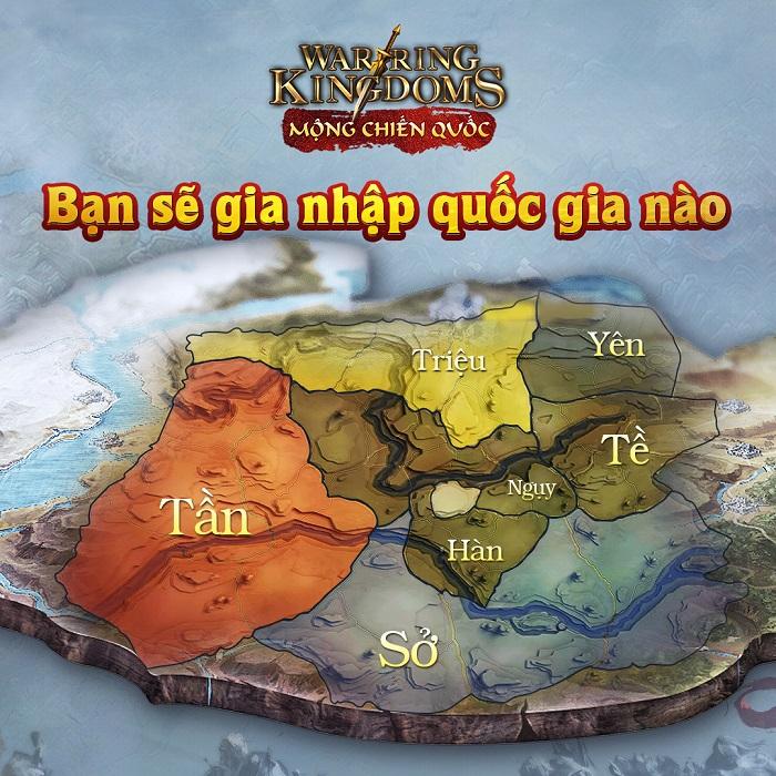 Mộng Chiến Quốc: Warring Kingdoms - Game chiến thuật đỉnh cao cho fan SLG 1