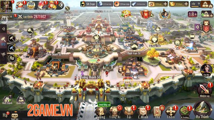 Mộng Chiến Quốc: Warring Kingdoms - Game chiến thuật đỉnh cao cho fan SLG 2