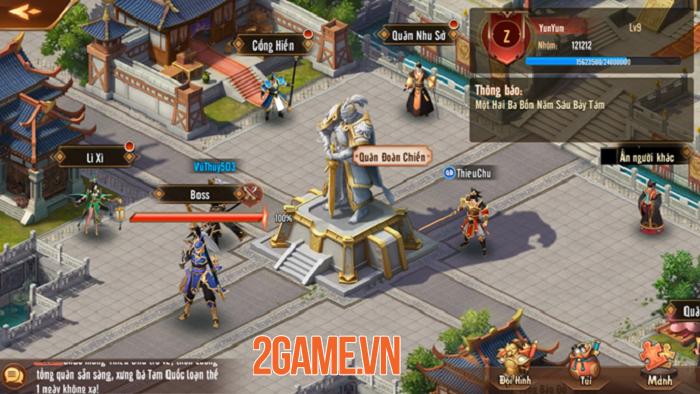 Tân OMG3Q VNG tung phiên bản mới Công Thành Chiến với những tính năng siêu hot 3