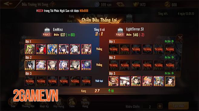 """Tân OMG3Q VNG: """"Leo rank"""" mỗi ngày với dàn tính năng đầy cạnh tranh 7"""