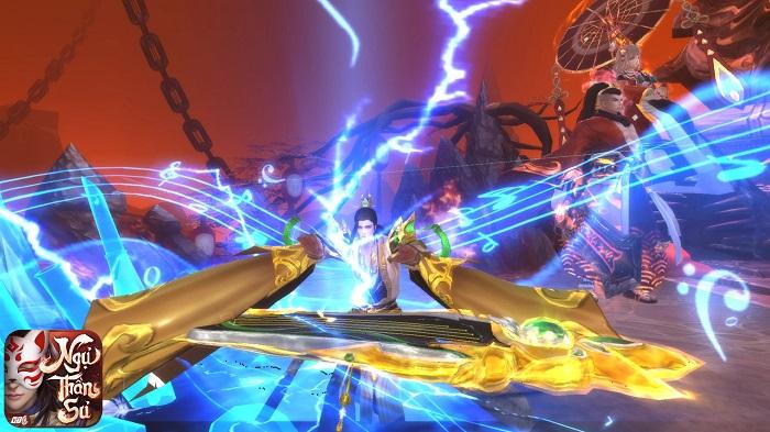 Ngự Thần Sư - MMORPG bối cảnh  Âm Dương Sư khiến giới game thủ phát sốt 3