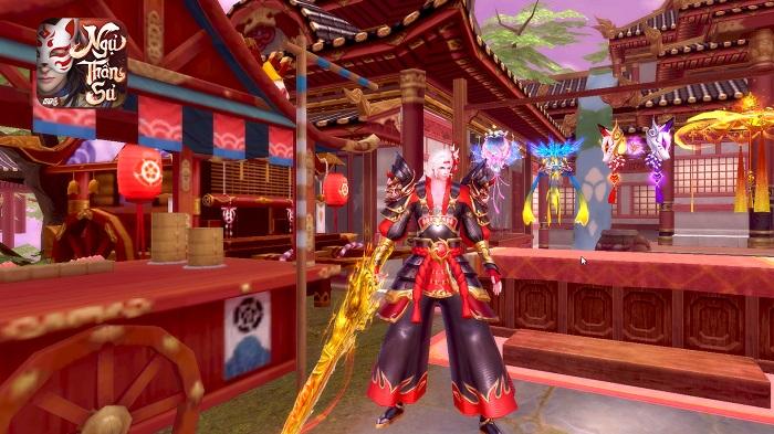 Ngự Thần Sư - MMORPG bối cảnh  Âm Dương Sư khiến giới game thủ phát sốt 4