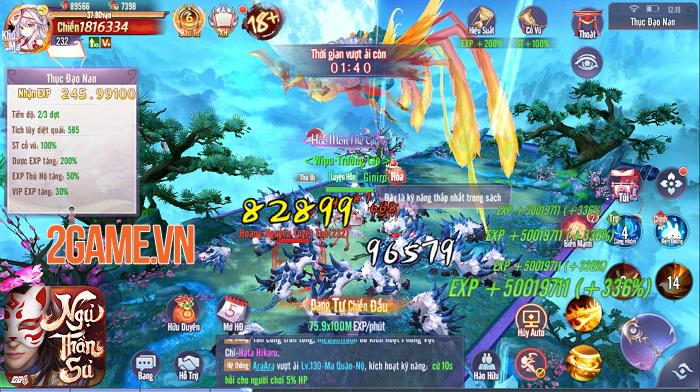 Ngự Thần Sư - MMORPG bối cảnh  Âm Dương Sư khiến giới game thủ phát sốt 5