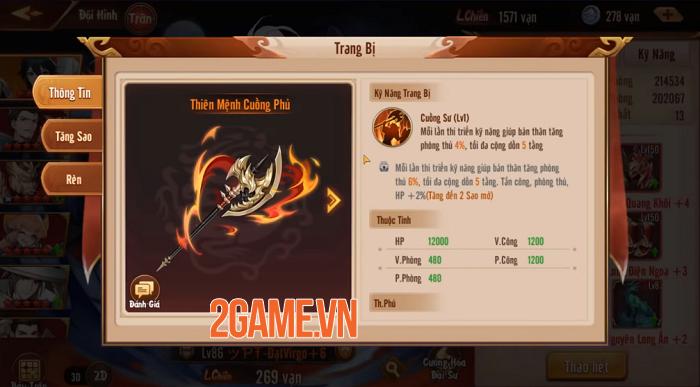 Tân OMG3Q VNG: Hệ thống Thần Binh cho phép tự do tùy biến chiến thuật 2