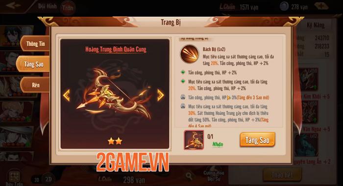 Tân OMG3Q VNG: Hệ thống Thần Binh cho phép tự do tùy biến chiến thuật 3
