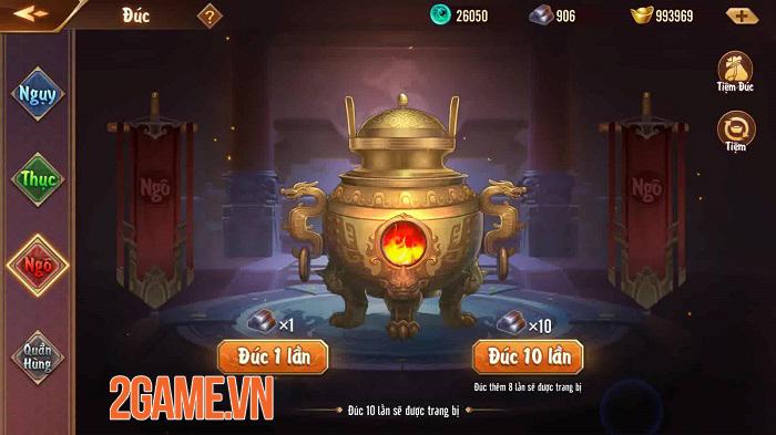 Tân OMG3Q VNG: Hệ thống Thần Binh cho phép tự do tùy biến chiến thuật 5