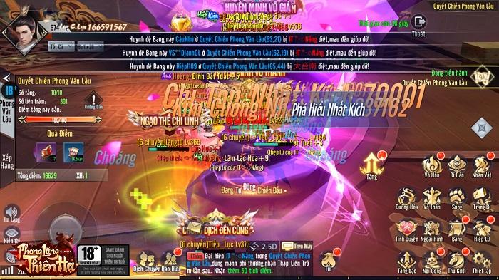 Game Phong Lăng Thiên Hạ đã