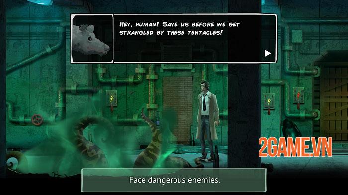 Unholy Adventure - Game phiêu lưu giải đố cốt truyện kinh dị siêu thực 1
