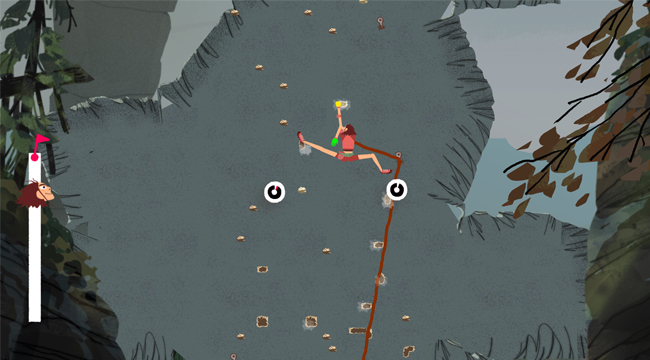 Tip Top – Game giả lập leo núi đơn giản nhưng hấp dẫn trên Steam