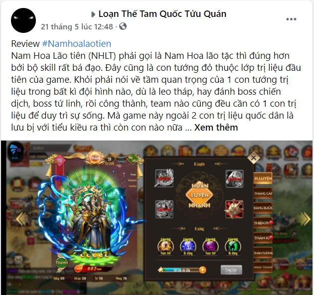 """""""Mê"""" game Loạn Thế Tam Quốc chắc chắn game thủ không thể bỏ qua vị tướng này 3"""