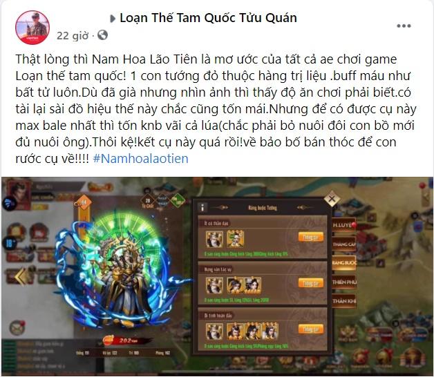 """""""Mê"""" game Loạn Thế Tam Quốc chắc chắn game thủ không thể bỏ qua vị tướng này 4"""