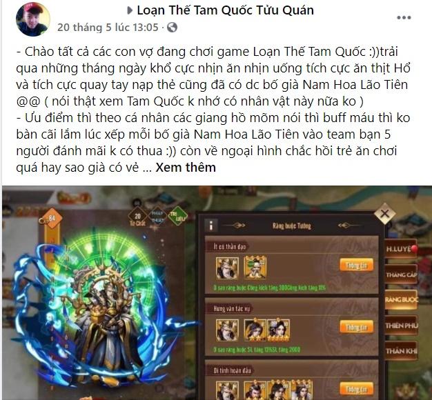 """""""Mê"""" game Loạn Thế Tam Quốc chắc chắn game thủ không thể bỏ qua vị tướng này 6"""
