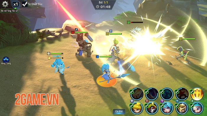 Trải nghiệm Hero Awaken: Hiệu ứng đẹp mắt, phong cách chiến đấu phóng khoáng 7