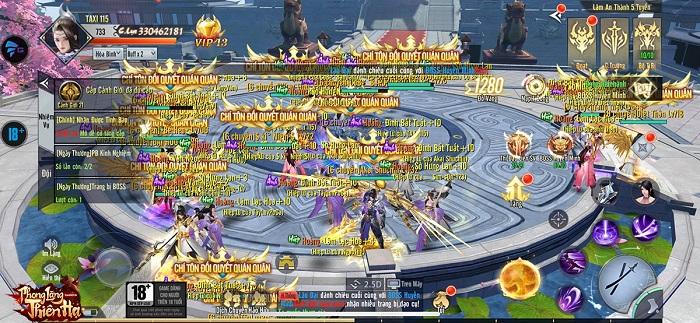 """Phong Lăng Thiên Hạ - MMORPG kiếm hiệp siêu HOT cho game thủ """"ở nhà chống dịch"""" 0"""