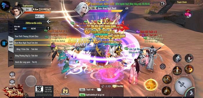 """Phong Lăng Thiên Hạ - MMORPG kiếm hiệp siêu HOT cho game thủ """"ở nhà chống dịch"""" 2"""