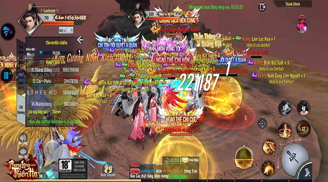 """Phong Lăng Thiên Hạ – MMORPG kiếm hiệp siêu HOT cho game thủ """"ở nhà chống dịch"""""""
