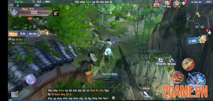 Cửu Âm Chân Kinh Gosu - Game mobile chuẩn PC chính thức ra mắt 1